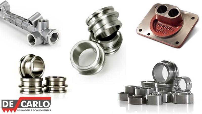 Fabricantes de peças usinadas em alumínio