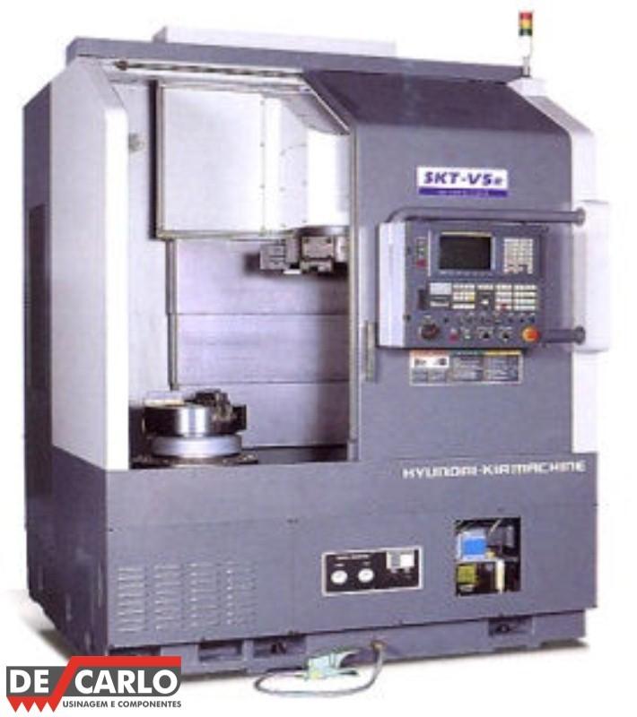 Usinagem máquinas cnc