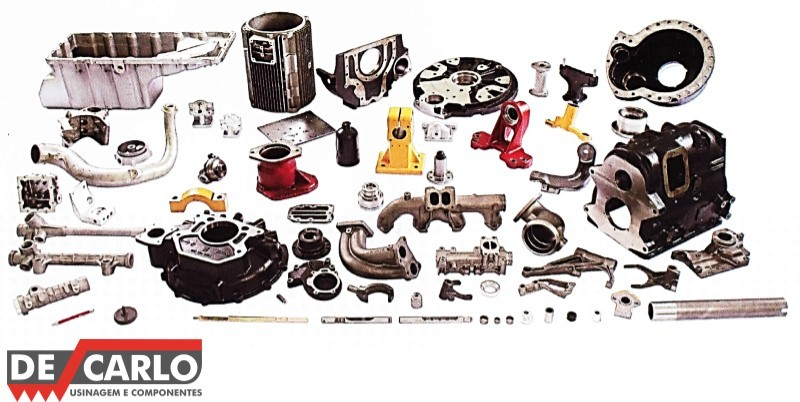 Usinagem de peças automotivas